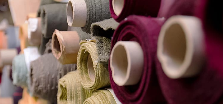 Clearance page_rolls of fabric colour