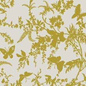 Florence Broadhurst Tropical Floral, Chartreuse