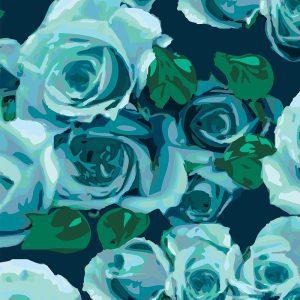 Floreale, Azul, Lynne Tanner