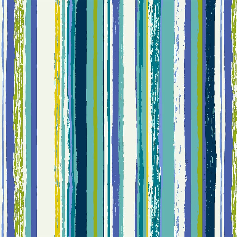 Bouquet Stripe Lagoon