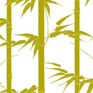 Florence Broadhurst Bamboo Hawaii, Olive