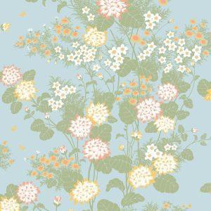 Florence Broadhurst Chinese Floral, Botany