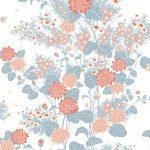 Florence Broadhurst Chinese Floral, Dawn