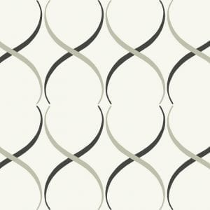 Florence Broadhurst Crossover Lattice, Marble