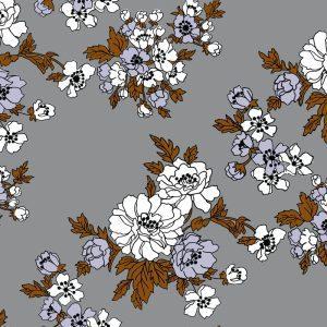 Florence Broadhurst Gardenia, Paperbark