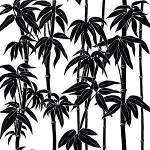 Florence Broadhurst Japanese Bamboo, Magpie