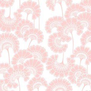 Florence Broadhurst Japanese Floral, Macaron