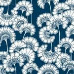 Florence Broadhurst Japanese Floral, True Blue