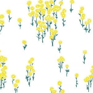 Florence Broadhurst Scatter Daisy, Sunflower