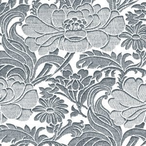 Florence Broadhurst Tudor Floral, Aquila