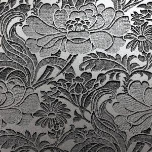 Florence Broadhurst Tudor Floral, Silver