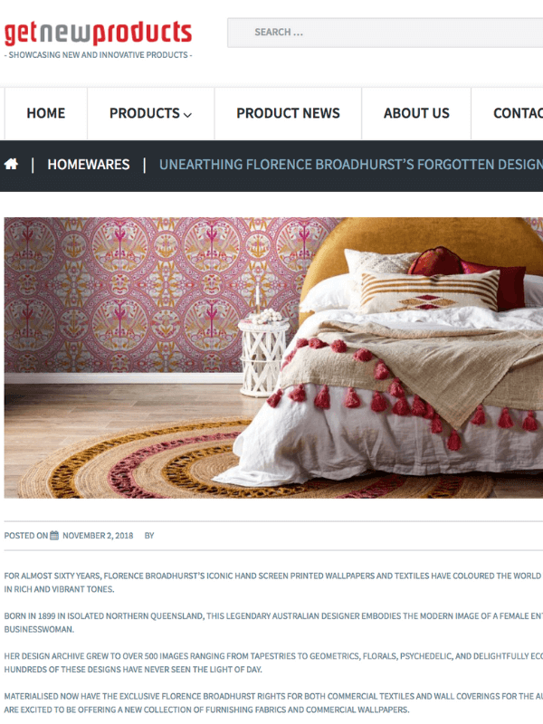Get New Products, Florence Broadhurst wallpaper