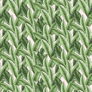 Tropical leaves mini, Typoflora Textiles and Wallcovering, Materialised