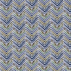 Chevron in Navy, Sara B, textile, wallcovering