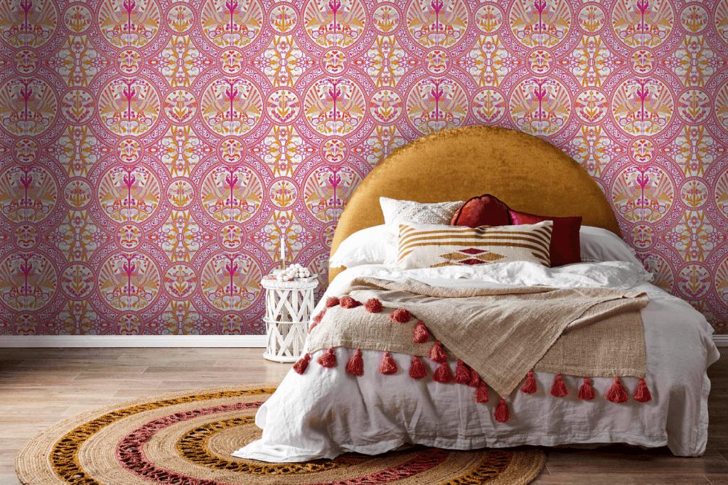 Florence Broadhurst wallpaper, Arabian Birds
