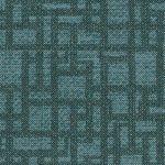 Element, Slate Blue, faux leather pattern