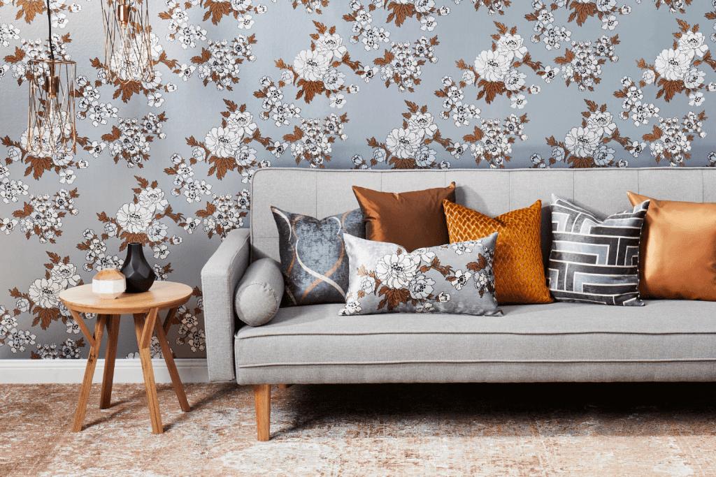 Florence Broadhurst wallpaper, Gardenia