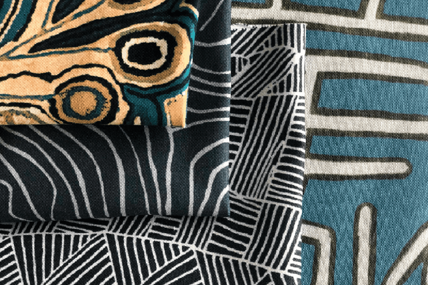 Jimmy Pike furnishing textiles