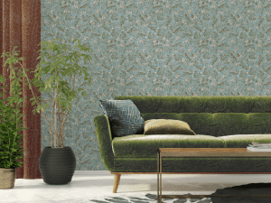 Jimmy Pike wall covering and textiles
