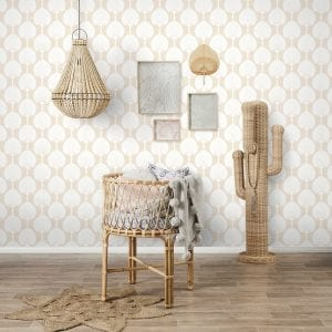 Florence Broadhurst wallpaper, Miko