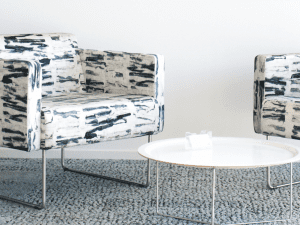 P/Kaufmann, Materialised fabric and wall covering collection