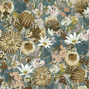 Lynne Tanner textiles and wall covering, Native