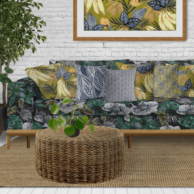 Sara Berrenson new textile and wall covering collection