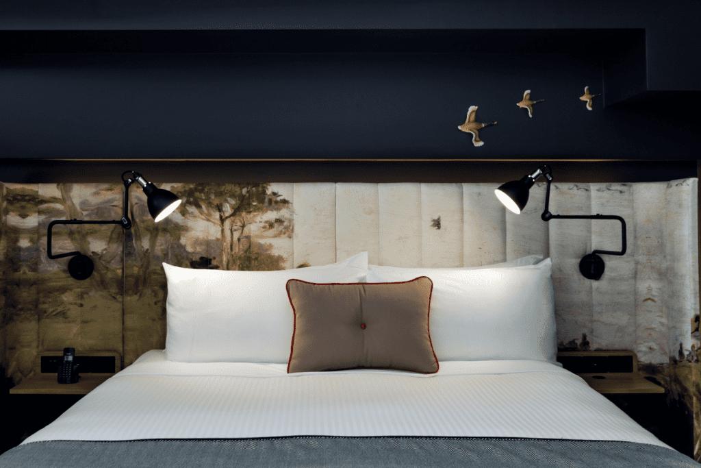 Ovolo Woolloomooloo bedhead upholstery fabric
