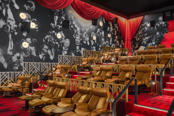 Boutique Event Cinemas, acoustics, WhisperWalls