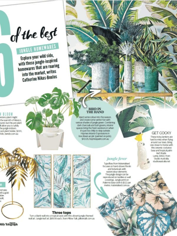 Daily Telegraph HOME Magazine