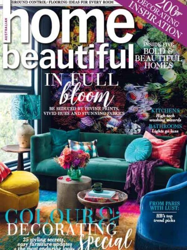 Home Beautiful April 2019 cover