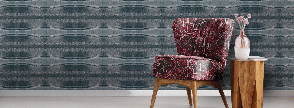 Jimmy Pike wall vinyl and furnishing textiles