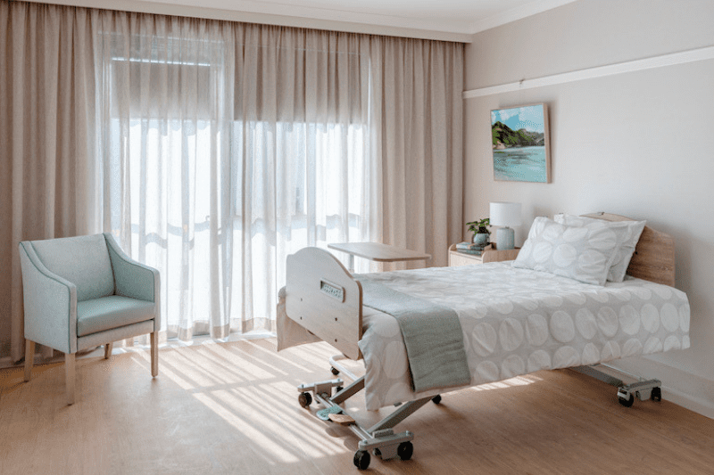 McNally Architects, RSL Lifecare, sheer drapery