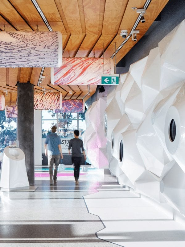 Monash Uni, Sibling Architecture, education design