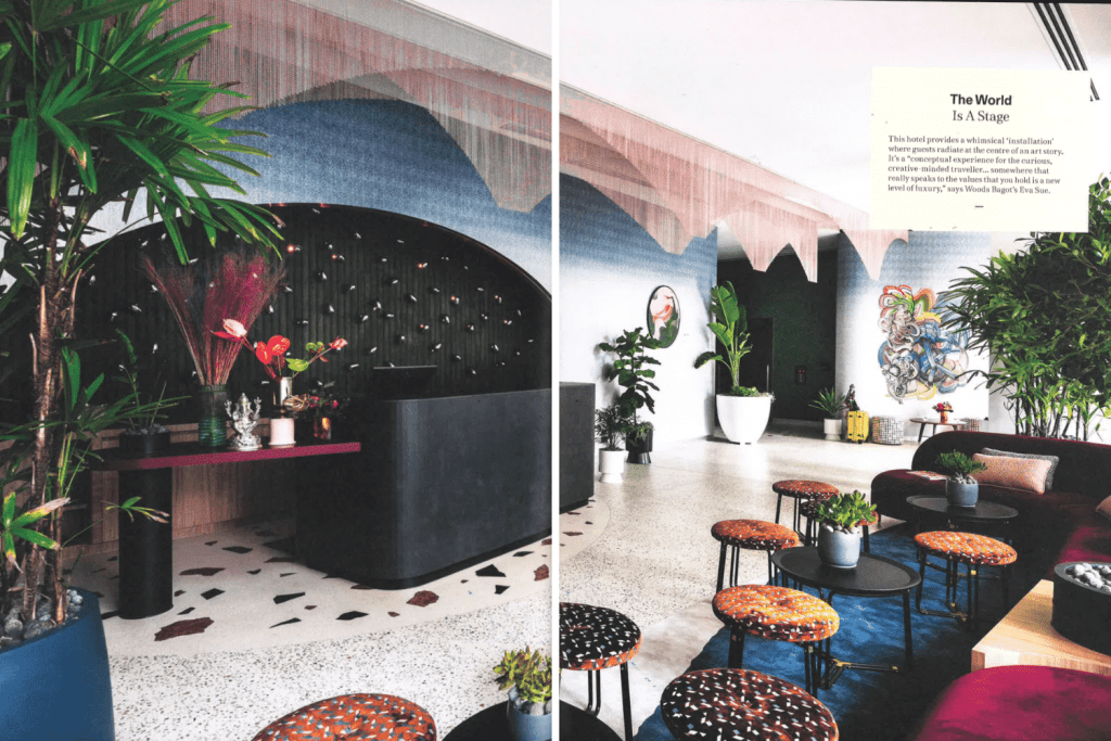 Ovolo The Valley Woods Bagot InDesign