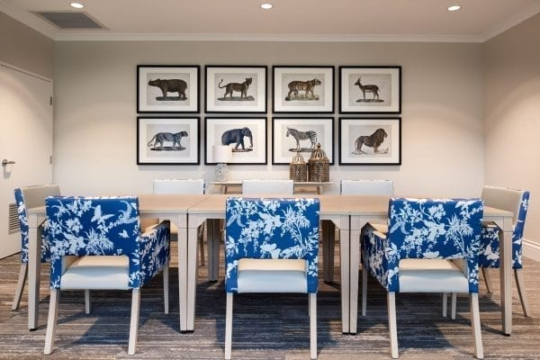 RSL Lifecare, Crown Furniture, Florence Broadhurst by Materialised