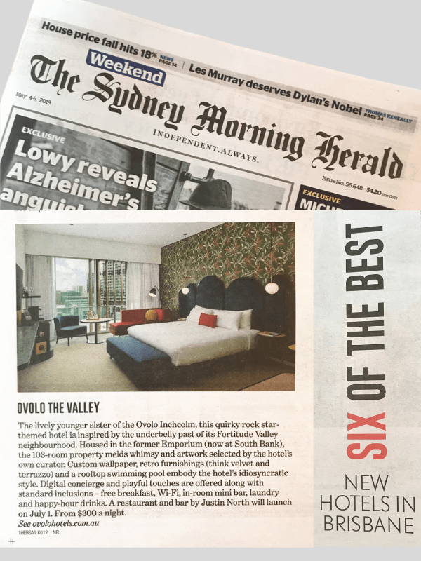 Sydney Morning Herald Ovolo The Valley