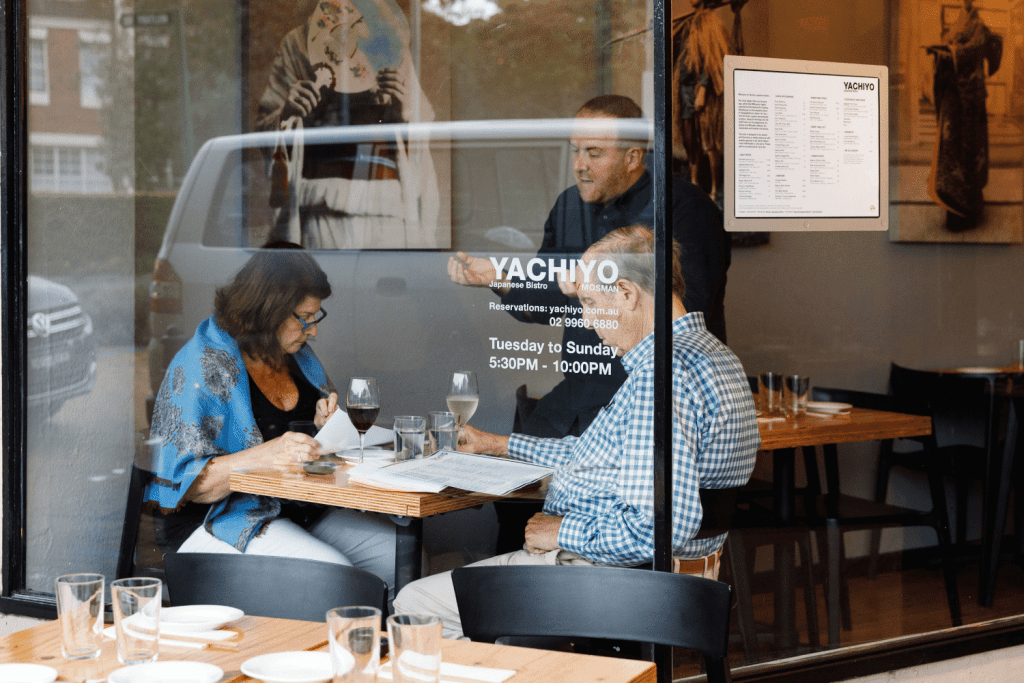 Yachiyo Restaurant © Steve Woodburn