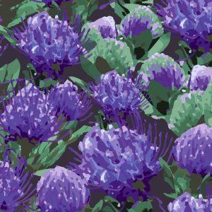 Lynne Tanner Carnival, Purple