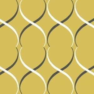 Florence Broadhurst Crossover Lattice, Citrus