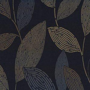 Leaves, Denim, Crypton waterproof fabric
