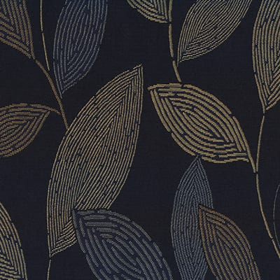 Leaves, Denim, Crypton waterproof fabric