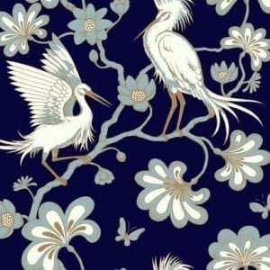 Florence Broadhurst wallpaper, Egrets FB1452 - American Edit