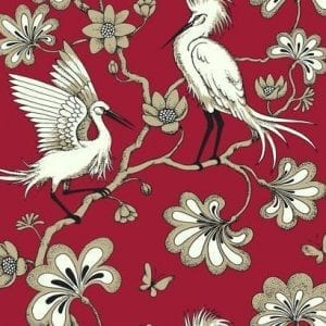 Florence Broadhurst wallpaper, Egrets FB1453 - American Edit