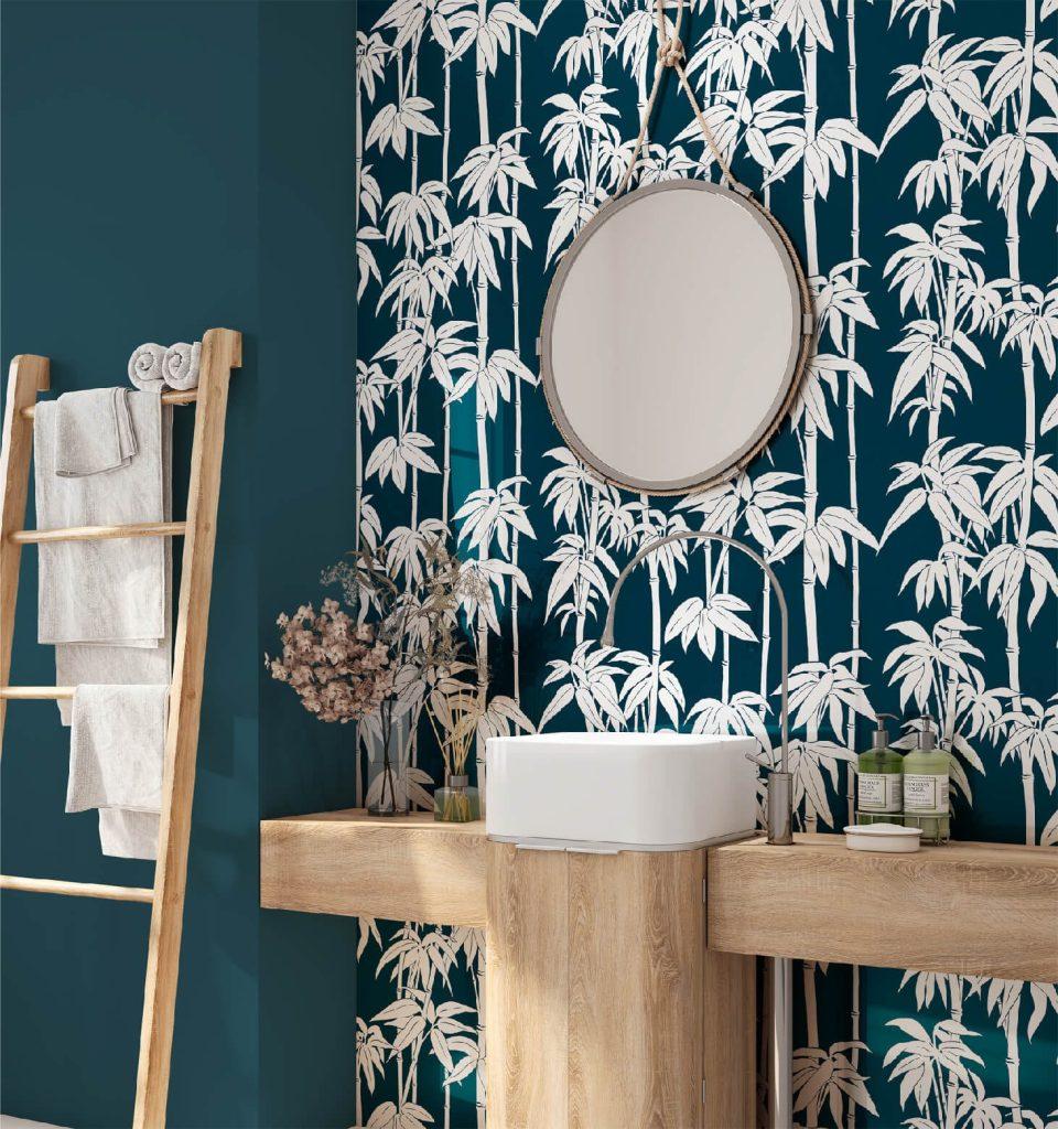 Japanese Bamboo, Cruise, Florence Broadhurst wallpaper
