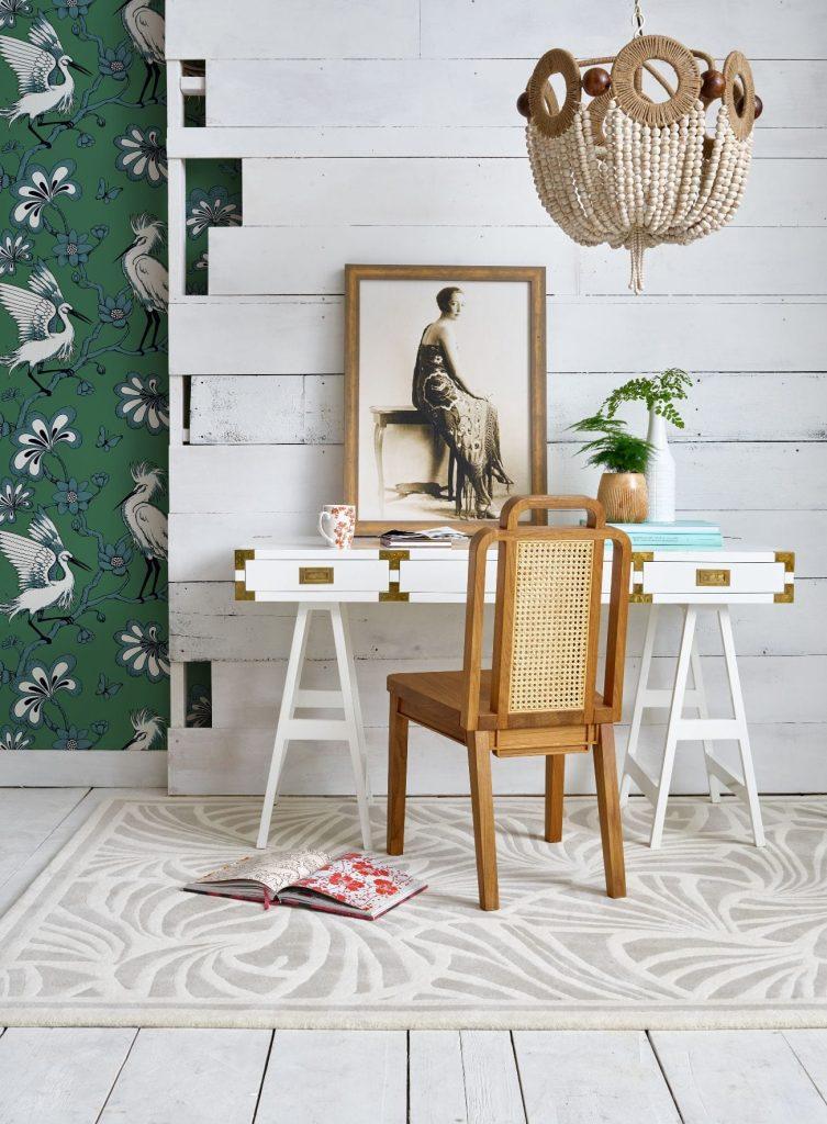 Florence Broadhurst Egrets wallpaper, Fb1451