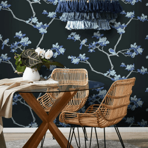 Florence Broadhurst wallpaper, Azalea
