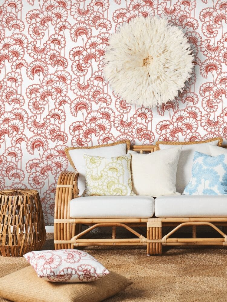 Florence Broadhurst wallpaper by Materialised, Japanese Floral