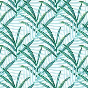 Sara Berrenson Foliage, Aqua