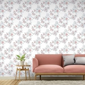 Gardenia, Corella, Florence Broadhurst wallpaper